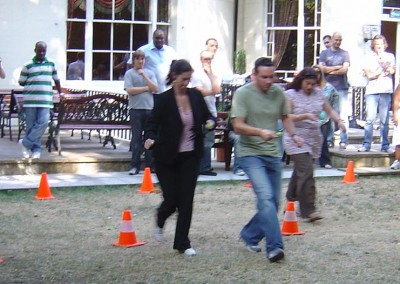 Designing a Team-Building Exercise at an Annual Sales meeting